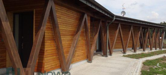 Elewacja drewniana i taras