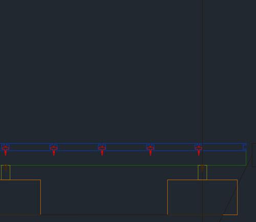 Schemat ułożenia desek kompozytowych projekt Gamrat