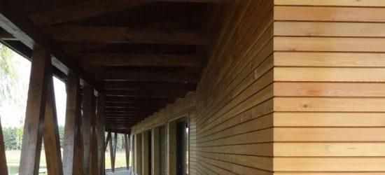 Elewacje drewniane Tiga